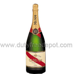 Mumm Cordon Rouge Champagne (750 ml.) With Gift Box