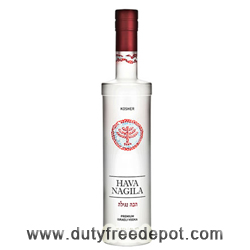 Hava Nagila Vodka Metal Kosher (700 ml)