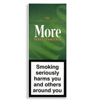 6 Cartons of More International Menthol 120s Cigarette (Hard Box)