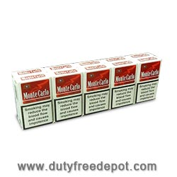 10 Cartons of  Monte Carlo King Size Cigarettes