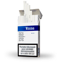 6 Cartons of Winston Blue Super Slim