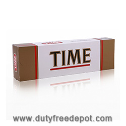 Time Red King Box Cigarettes