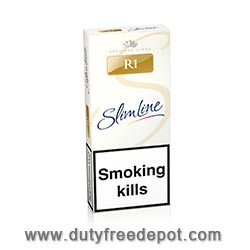20 Cartons of  R1 Gold Slim Line Cigarettes