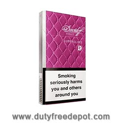 Davidoff Gold / Magenta Superslims Cigarettes