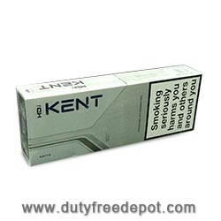 6 cartons of  Kent Silver HDI Cigarettes