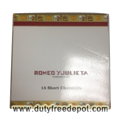 Romeo Y Julieta Short Churchills Cigars (15 cigars)