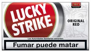 Lucky Strike Original Red Rolling Tobacco (10 X 25 GR)