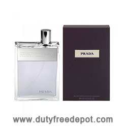 Prada Man  Eau De Toilette Spray  (100 ml./3.4 oz.)