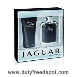 Jaguar Classic Black Bath Set (Eau de Toilette 100ml, Shower Gel 200ml)