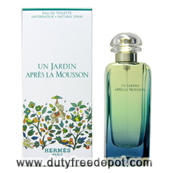 Hermes Un Jardin Apres La Mousson Eau De Toilette For Women (100 ml./3.4 oz.)