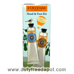L'Occitane Hand Cream And Face Cream Set  2X(75 ml./2.5 oz.)