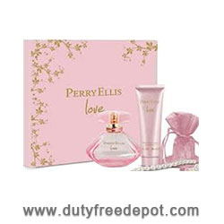 Perry Ellis Love 100ml  Eau de Parfum + 90ml Body Lotion + Pearl Bracelet