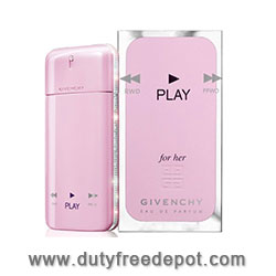 Givenchy Play For Her   Eau De Parfum  SET (50 ml./1.7 oz)+12.5 ML