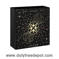 Lalique Lamour 2013 Christmas Set (EDP 100ml, Necklace to be perfumed)