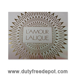 Lalique Lamour New 2014 Set (EDP 100ml + Body Lotion Tube 150ml)