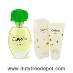 Gres Cabotine Paris Je T'aime Set (EdT 50ml, Body Lotion 50ml, Toiletry Bag)