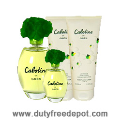 Gres Cabotine de Cabotine Coffret 4 units (EdT 50ml, Body Lotion 50ml, Shower Gel 50ml, Mini EdP 3.2
