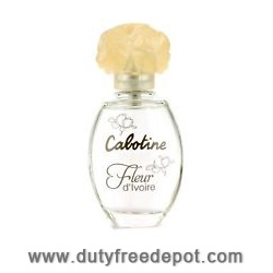 Gres Cabotine Fleur D`ivoire Eau de Toilette Natural Spray 50ml