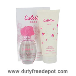 Gres Cabotine Rose Window Set (EdT 50ml, Body Lotion 50ml)
