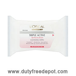 L'Oreal Dermo-Expertise Re-nourishing Cleansing Wipes (25 units)