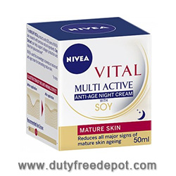 Nivea Visage Vital Triple Action Soy Replenishing Day Care 50ml
