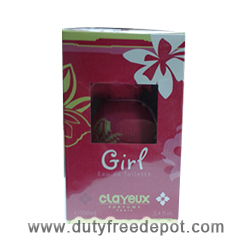 Clayeux Eau De Toilette For Girls (100 ml./3.4 oz.)