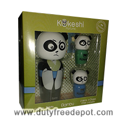 Kokeshi Bambu Set of 2 Nail Lacquers + 1 Eau De Toilette (50 ml./1.7 oz.)