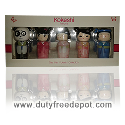 Kokeshi Set of 5 Miniatures Eau De Senteur (5ml X 5)