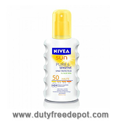Nivea Sun - Pure & Sensitive Sun Spray SPF 50 - 200ML