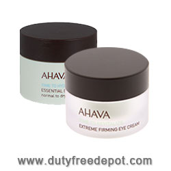 Ahava Time To Smooth Face Cream + Eye Cream + Set (2X50ml+100ml+3ml)