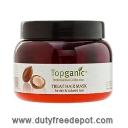 Topganic Argan Oil From Morocco Hair Moisturizer & Design Cream (400 gr./14 oz.)