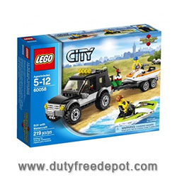 LEGO Suv With Watercraft V29