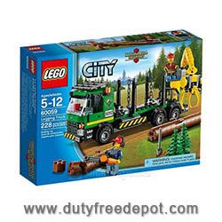LEGO City  Logging Truck  V29