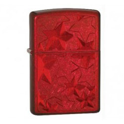 Zippo Iced Candy Apple Red Stars Lighter (model: 24947)