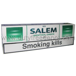 20 Cartons of Salem Menthol Green Cigarette
