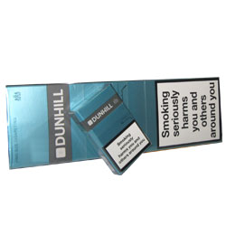 20 Cartons of Dunhill Fine Cut Menthol (Green)  King Size Cigarettes