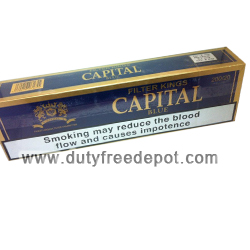 20 Cartons of Capital Blue King Size Cigarettes