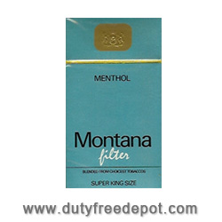20 Montana 100 Box Cigarettes