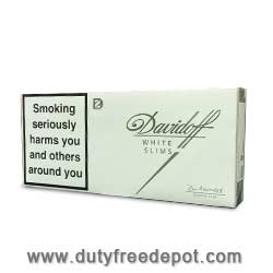 20 Cartons of Davidoff White Slims Cigarettes