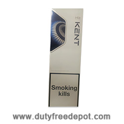 20 Cartons of Kent HD Blue Rounded Pack Cigarettes