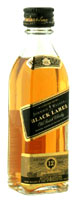 Johnnie Walker Black Label Whisky  (3 Miniatures of 5CL)