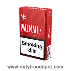 10 Cartons of Pall Mall Red Cigarettes