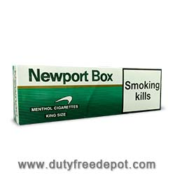 10 Cartons Of Newport Menthol Cigarettes King Size Box Hard Pack