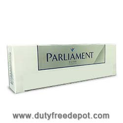 10 Cartons of Parliament Silver King Box