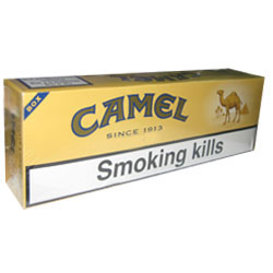 10 Cartons of Camel Medium Cigarettes