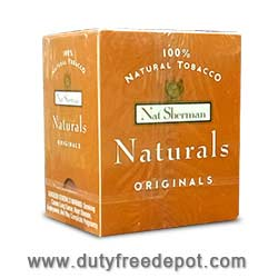10 Cartons of 100 Cigarettes Nat Sherman Original