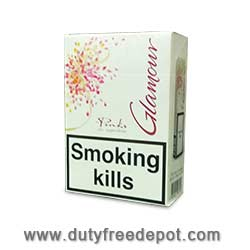 10 Cartons Of Glamour Pink Superslims Cigarettes