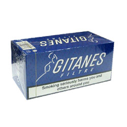 10 Cartons of Gitanes Brunes Filter Cigarette