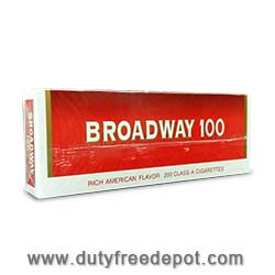 10 Cartons Of Broadway 100 Cigarettes