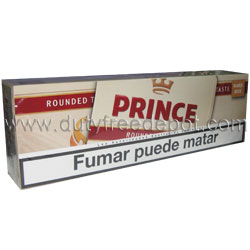 10 Cartons of Prince Rounded Taste Cigarettes